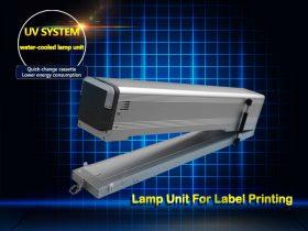 UV Lamp Unit for Label Printing