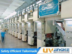 UV Curing System for Cerutti Rotogravure Press