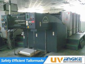 UV Curing System for Manroland 500 Offset Press