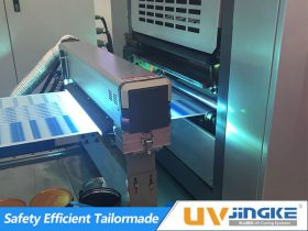 UV Curing System for Narrow Web Printing Press