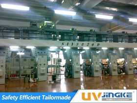 UV Curing System for Sotech Rotogravure Press