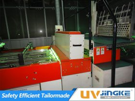 UV Curing System for Tin Printing Press